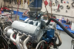 drag race big block chevy