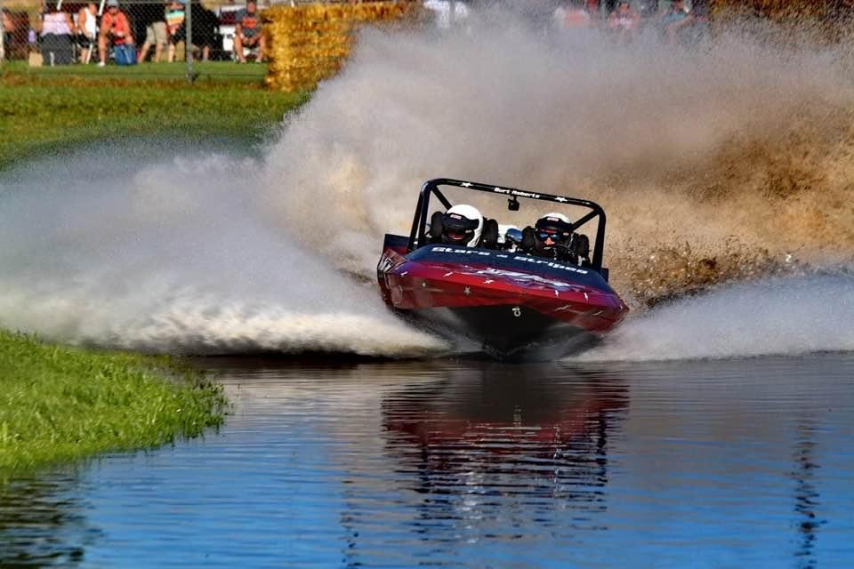 Custom Built Jet sprint Boat Engine