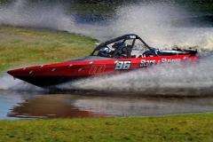 Naturally aspirated jet sprint racing engine